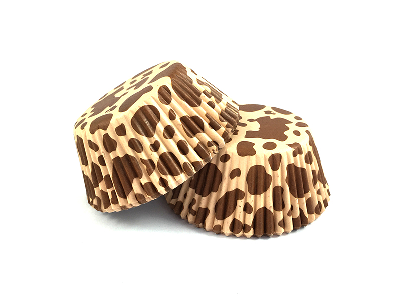 Brown Cow Spotted Cupcake Papers Littlecookies