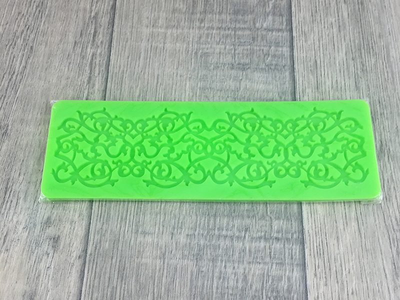 Cake Decorating Accessories Nz : Lace Mould # 1 - LittleCookies