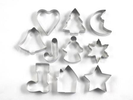 Christmas Xmas Cookie Cutters Little Cookies Nz