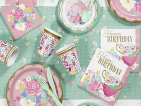 Party Plates, Paper Cups & Napkins for Party Tableware