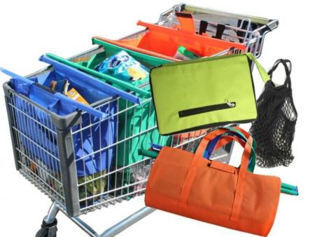 Reusable Shopping Bags for Supermarket Trolleys & Shopping